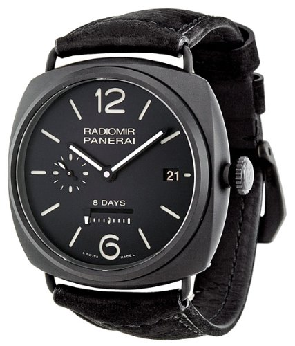 Panerai Radiomir 8 Days Black Dial Automatic Mens Watch PAM00384