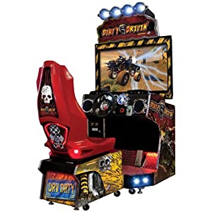 Dirty Drivin Driving Arcade Game
