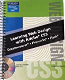 img - for Learning Web Design with Adobe CS3: Dreamweaver, Fireworks, Flash book / textbook / text book