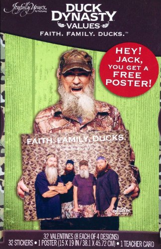 Duck Dynasty Valentine Cards ! Family Values