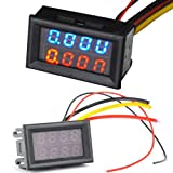 DC 0V-30V (10A) Dual LED Digital Voltmeter Ammeter Voltage AMP Power Meter R+B