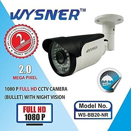 Wysner-WS-BB20-NR-2MP-Bullet-CCTV-Camera