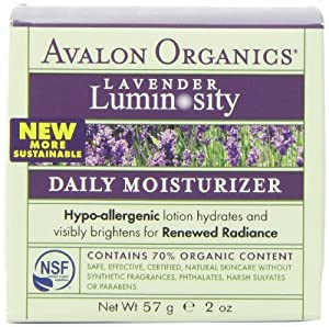 Avalon Organics Lavender Luminosity Daily Moisturizer from Avalon Organics