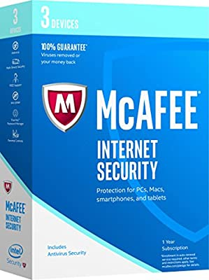 McAfee 2017 Internet Security-10 Devices [Key Code] (10-Users)