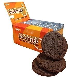Bodybuilding Warehouse Premium Protein Cookies - Chocolate Caramel (Box of 12)