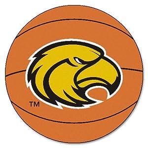 FANMATS NCAA Univ of Southern Mississippi Golden Eagles Nylon Face Basketball Rug