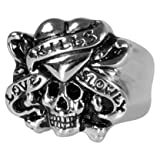 ED HARDY LOVE KILLS SLOWLY Men's RING Small R