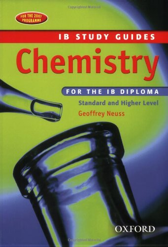 Chemistry For The Ib Diploma: Study Guide (Ib Study Guides)