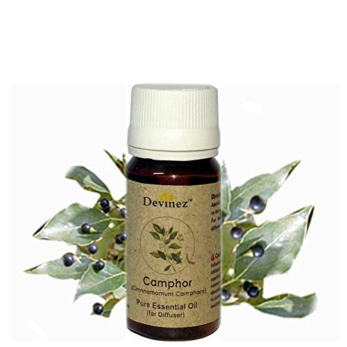 Devinez Camphor, Ylang-Ylang Essential Oil For Electric Diffusers/ Tealight Diffusers/ Reed Diffusers, 15ml Each