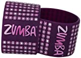 Zumba Fitness LLC Fab Wide Rubber Bracelet-Pack of 2, Plum, One Size