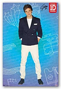 "1D (One Direction) - Liam - Pop 22""x34"" Art Print Poster from Trends International"