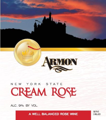 Nv Armon Cream Rose New York Rosé 1.5 L