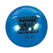 Power Systems Power Throw-Ball Baseball Medicine Ball (Blue, 21-Ounce)