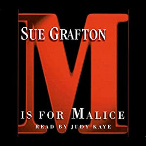 M Is for Malice Audiobook