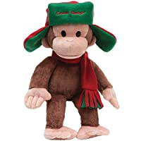 Curious George with Fargo Hat Plush Toy Classic Gund Stuffed Animal by GUND INC