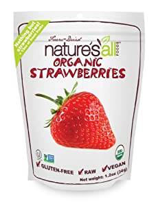 Nature's All Foods Freeze-Dried Strawberries, 1.2 Ounce