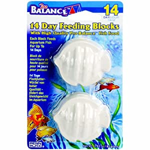 Pro Balance® 14-Day Vacation Feeding Blocks for Fish, 2-pack