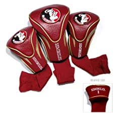 Buy NCAA Florida State Seminoles 3 Pack Contour Golf Club Headcover by Team Golf