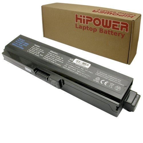 Hipower / LaptopPartsZone 12 Cell Laptop Battery For Toshiba Satellite M645-S4045, M645-S4047, M645-S4048, M645-S4049, M645-S4050, M645-S4055, M645-S4061, M645-S4062, M645-S4063, M645-S4065, M645-S4070, M645-S4080, M645-S4110, M645-S4112, M645-S4114, M645