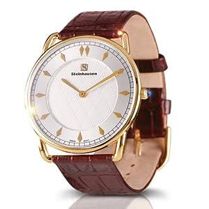 Steinhausen Men's TW518G Dunn Horitzon Victorian Edition Swiss Quartz Gold Watch