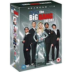 Big Bang Theory - Season 1-4 Complete [DVD] $44 Delivered from Amazon