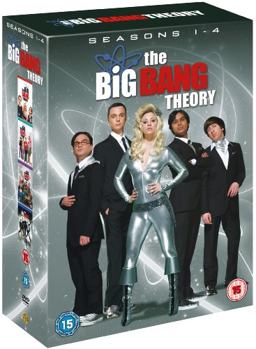 Big Bang Theory - Season 1-4 Complete [DVD]