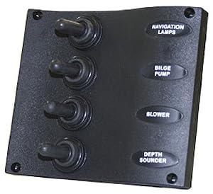 SeaSense Marine 4 Way Switch Panel