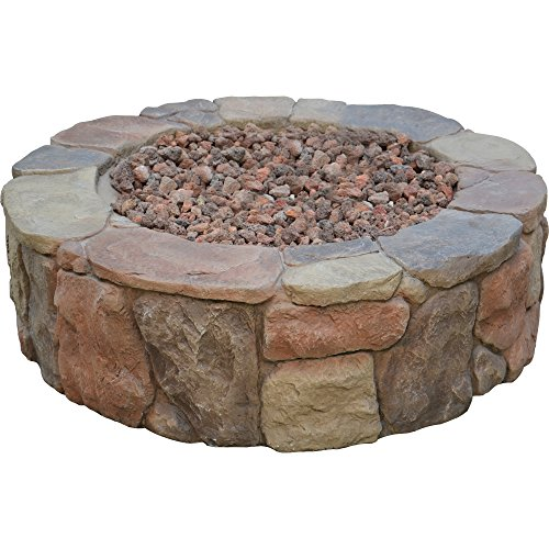 Bond-Mfg-67456-Pinyon-Gas-Stone-Look-Fire-Pit-28-by-28-by-91