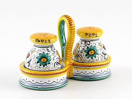 Handmade Ceramic Salt And Pepper Shakers Ceramic Salt Amp Pepper
