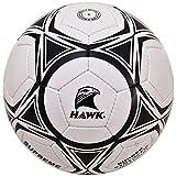 HAWK Supreme Unisex Rubber Football 5 White