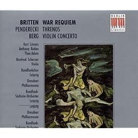 War Requiem Op. 66: Domine Jesu Christe