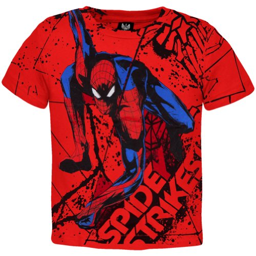 Amazing Spider-Man - Web Strike All Over Youth T-Shirt