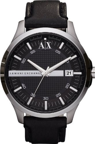 Armani Exchange AX2101 Mens WHITMAN Black Watch