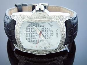 Aqua Master Skull Face 20 Diamond Watch White