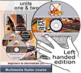 GCH Guitar Academy Left Handed Guitar Course Years 1 and 2 Beginners to Intermediate Plus DVD