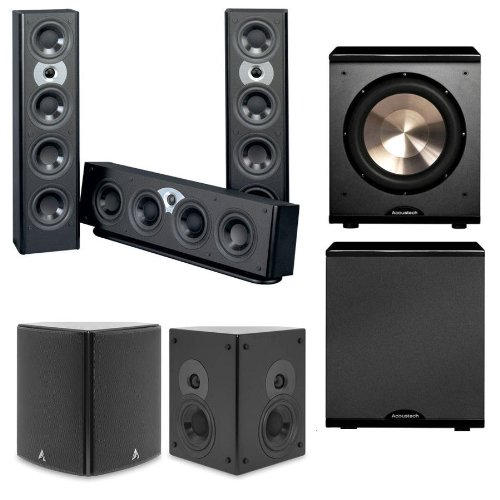 Atlantic Technology System Fs 3200 Lcr 5.1 Home Theater System