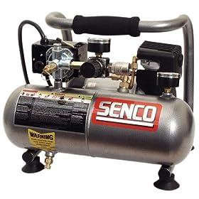 Senco PC1010 1-Horsepower Peak 1-Gallon Compressor