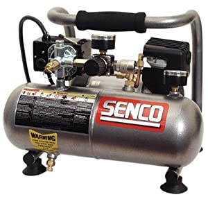 Senco PC1010 1-Horsepower Peak, 1/2 hp running 1-Gallon Compressor,Senco,PC1010 Compressor,B0000AQK78
