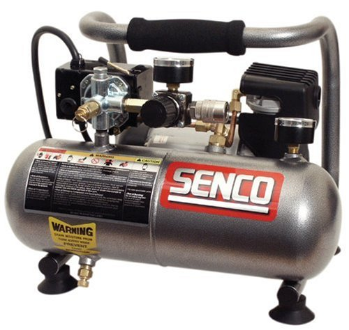 Senco PC1010 1-Horsepower Peak 1-Gallon Compressor