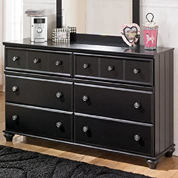 Jaidyn Black Bedroom Dresser