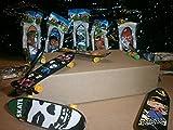 Geschenkidee lustige Geschenke - 18x Fingerskateboard Fingerboard Mitgebsel Mitbringsel Kindergeburtstag Tombola