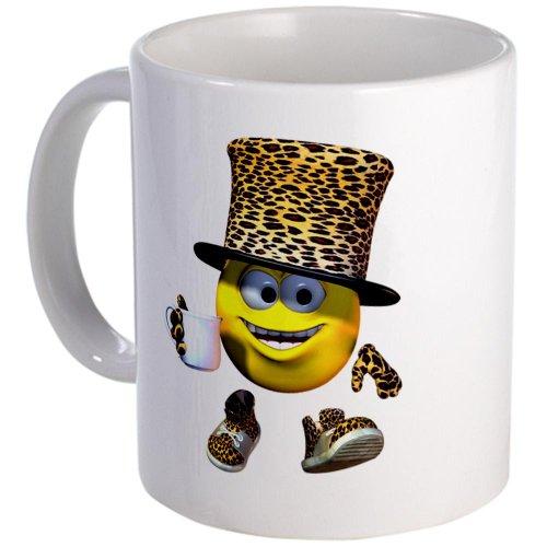 Cafepress Tea Time Mad Smiley Hatter Mug - Standard