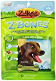 Zukes Z-Bones Edible Grain-Free Dental Chews, Clean Apple Crisp, Mini 8.25-Ounce, 18 Count