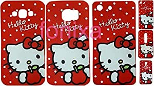 Meephone hello kitty back cover Sony Xperia M5 Red
