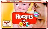 Huggies Dry Diapers Medium Size (30 Count) - Rs.335.00 @ AMAZON