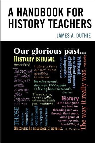 A Handbook for History Teachers