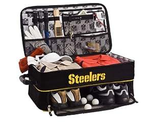 amazon com nfl pittsburgh steelers golf trunk locker