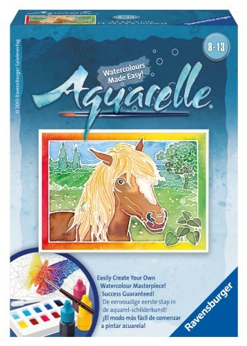 Ravensburger Aquarelle Horse Arts and Crafts Kit