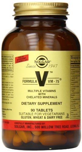 Solgar Formula Vm-75 Tablets, 90 Count