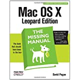 Mac OS X Leopard: The Missing Manual (Missing Manuals)by David Pogue